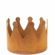 Metal crown Leo, diameter 30cm, height 22cm